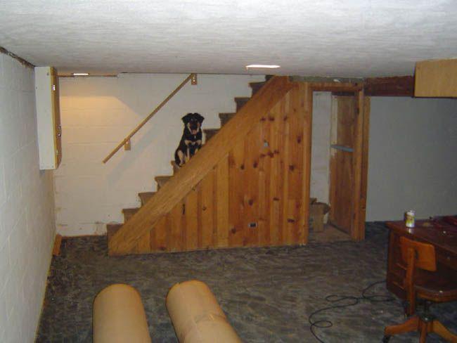 basement remodeling project 650x488 jpeg