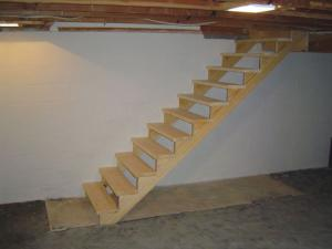start of new stairs